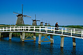Windmuehle, Kinderdijk Niederlande