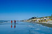 Strandleben, Egmond aan Zee Niederlande