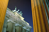 Quadriga on the Brandenburg Gate, Brandenburger Tor, Berlin Germany