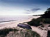 Theme: Henning Mankell, die falsche Faehrte, beach at Ystad Skane, Sweden