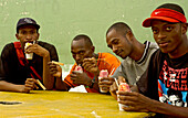 Rappers, Ghetto Clan, Music group, Aquablanca, Colombia