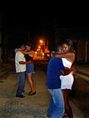 Dancing on the Street, Cartagena de Indias, Colombia, South America