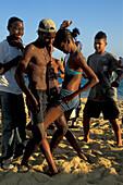 Teenager, Salsa Party on the Beach, Salvador de Bahia, Brazil