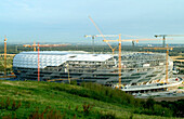 Allianz Arena, Allianz Arena, construction, world championship, world cup, soccer, stadium, Munich, Bavaria, Germany