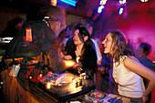 DJ, Disco Arena, Saalbach, Salzburger Land Oesterreich