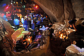 Interior view of the Disco Ritual, Baia Sardinia, Costa Smeralda, Gallura, Sardinia, Italy, Europe