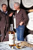 Bottle of Malt Whisky at Ben Nevis distillery, Fort William, Invernesshire, Scotland, Great Britain, Europe