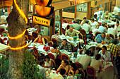 Fish restaurants, Kumkapi, Istanbul, Tuerkei