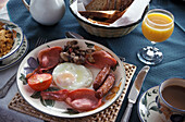Bed & Breakfast, Irish Breakfast, Cong, County Mayo Irland