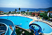 Open air swimming pool, Hotel Marco Polo, Camyuva, Kemer, Turkish Riviera, Turkey
