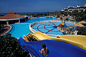 Open-air Pool, Hotel Defne Star, Side, Turkish Riviera, Turkey