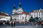 St. Niklas Church, Prague Czechia