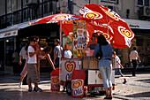 Ice Cream, Rua Augusta, Baixa, Lisbon Portugal