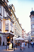People at the old town, Prague, Czechia, Europe