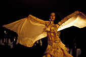 Belly dancer, Orient Hotel Istanbul, Turkey