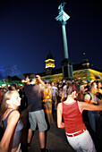 Open Air Music Event, Warsaw Poland