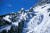 Ski Resort Tofana, Cortina d'Ampezzo-Dolomites Italia