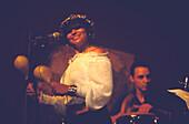 Woman Musician Percussions Barcelona, Percussionist in BCN/HBN Club, Barcelona, Catalonia, Spain