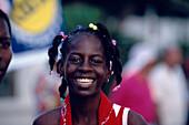 Happy girl, Carnival, Port of Spain Trinidad