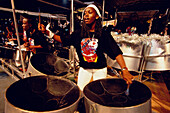 Steel Band Explosion, Carnival, Port of Spain, Trinidad and Tobago, Caribbean