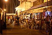 Guests at Schooner Wharf Bar, Harbour, Key West Florida, USA