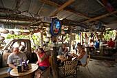 Guests at BO's Fishwagon, Fishwagon, Key West, Florida Keys, Florida, USA