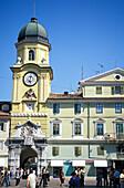 Square, Korzo, Rijeka, Istria, Croatia