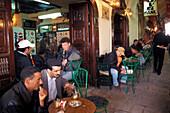 Cafe in Medina, Tunis, Tunesien Afrika