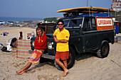 Gelaendetour mit Jeep, Newquay, Cornwall England, Grossbritanien