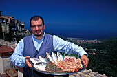 Seafood, Elba, National Park of the Tuscan Archipelago, Tuscany, Italy