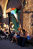 Altstadt, Alghero, La Nurra, Sardinien Italien