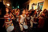 Karneval Bloco Afro, Salvador de Bahia Brasilien