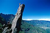 Climbing, Trois Salazie, Insel La Réunion Indischer Ozean