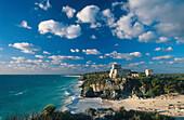 Mayastaette Tulum, Pyramide, Quintana Roo, Halbinsel Yucatan Mexiko