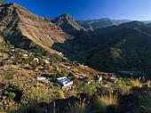 Valley of El Risco de Agaete, Tamadaba Natural Park, Gran Canaria, Canary Islands, Spain