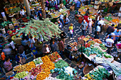 Fruit and Vegetable Market in Funchal, Mercado dos lavradores, Madeira, Portugal