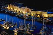 Yacht harbour, Bonifacio, Corsica, France