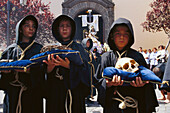 Procession of Lign.Crucis brotherhood, La Laguna, Tenerife, Canary Islands, Spain