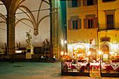 Loggia dei Lanzi, Piazza della Signoria, Florence, Tuscany, Italy