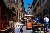 Antiquities Market, Arezzo, Tuscany, Italy