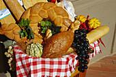 Bread and  pastry, Impruneta, Chianti, Tuscany, Italy