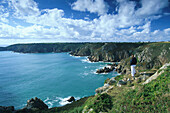 Icart Point, View towards Portelet Bay, Guernsey, Channel Islands, Great Britain