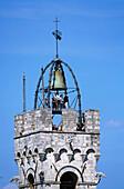 Torre del Mangia, Detail, Siena, Toskana, Italien