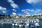 St. Peter Port, Harbour, Guernsey, Channel Islands, Great britain