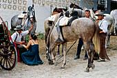 Romeria de San Isidro, Festivity, Nerja, Costa del Sol, Province of Malaga, Andalusia, Spain