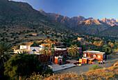 Cloister Sidi Abd el Jebar, near El Yali, Anti Atlas, Morocco