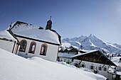 Chapel in Kuehtai, Kapelle, Kuehtai, Tirol, Oesterreich Tyrol, Austria