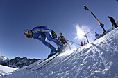 Race training, national skiing A-teams, Internationales Renntraining der A-Mannschaften Riesenslalom Herren aus CH, N, A, D, LIE, USA Rettenbachferners, Soelden, Oetztal, Austria Soelden, Oetztal, Oesterreich