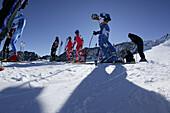 Race training, national skiing A-teams, nternationales Renntraining der A-Mannschaften Riesenslalom Herren aus N, A, D, LIE, USA Rettenbachferners, Soelden, Oetztal, Austria Soelden, Oetztal, Oesterreich