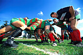 Rugby match, Pwllheli, Anglesey, Wales, Great Britain